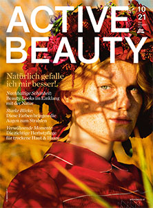 Cover der Active Beauty-Ausgabe Oktober 2021